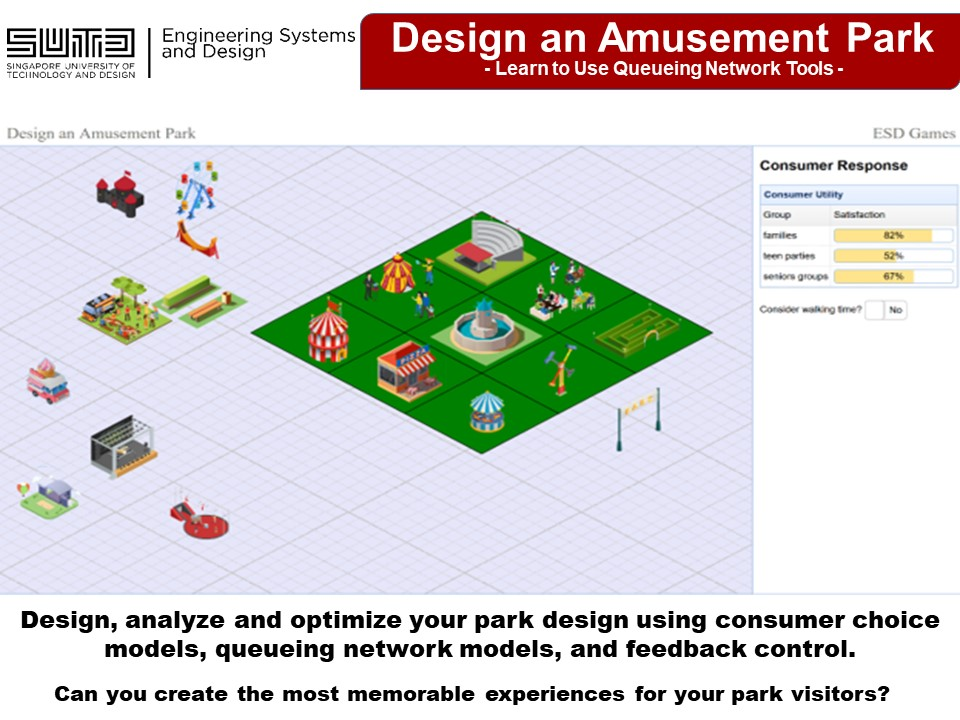 Design an Amusement Park Game