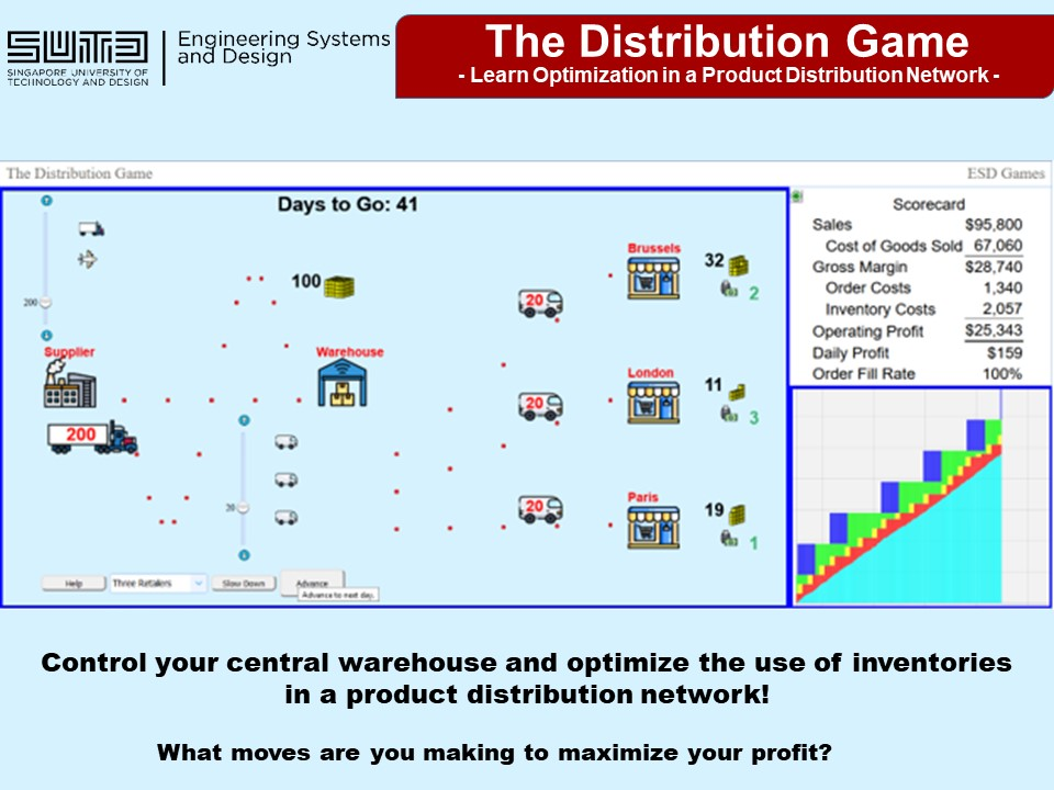 The Distribution Game